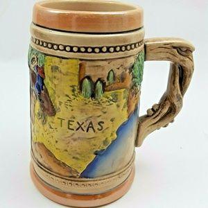 Vtg. 16 oz TEXAS Mug Cup
